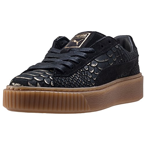 Puma Basket Platform Exotic Skin 36337701, Scarpe Sportive - 38.5 EU