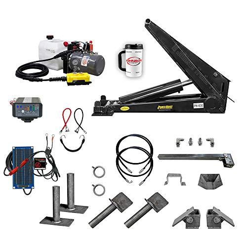 "12 Ton (24,000 lb) Dump Trailer Hydraulic Scissor Hoist Kit | PH630 | Perfect for Dump Beds & Trailers | 18' - 24"" Dump Bed (Premium)"