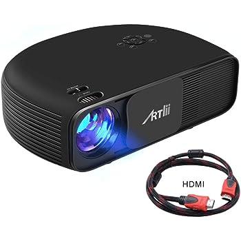 Artlii Proyector HD Ready, 3200 Lúmenes, Consigue una Imagen de ...
