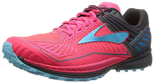 Brooks Mazama, Zapatillas de Entrenamiento Mujer, Multicolor (Diva Pink/Anthracite/Bluefish), 41 EU