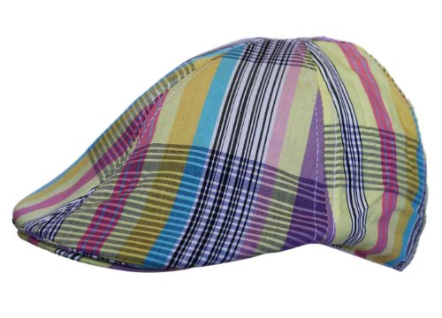 UD Accessories - Casquette souple - - À rayures Homme Multicolore Bigarré