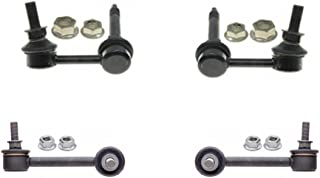 (4) 100% New Front and Rear Sway Bar Links 08-13 Infinity G37 Rear Wheel Drive