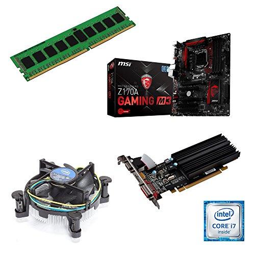 one Aufrüstkit · Intel Core i7-7700k, 4 x 4.20GHz · 2 GB AMD Radeon R5 230 · 8 GB DDR4 RAM · MSI Z270A Gaming · Kabylake · Aufrüstset · Mainboard Bundle · PC Tuning Kit