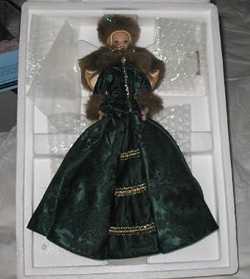 Holiday Caroler Porcelain Barbie Collection