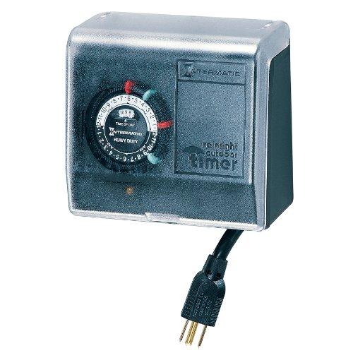 Intermatic P1101 Plug-in Timer, Black