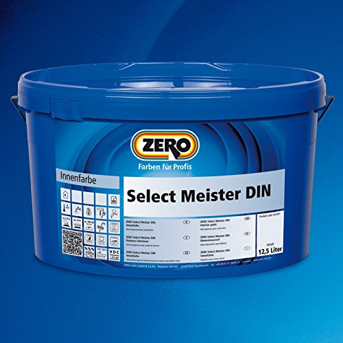 Zero Meister Din Wandfarbe 12,5 Liter
