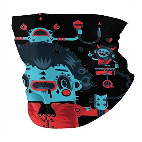 pumpkin pie Männer und Frauen Bandana Neck Warmer Gamaschen Haarband Primus Poster Sturmhaube Nasenrohrschal Kappe Staubschal Multifunktionale Kopfbedeckung Schwarz
