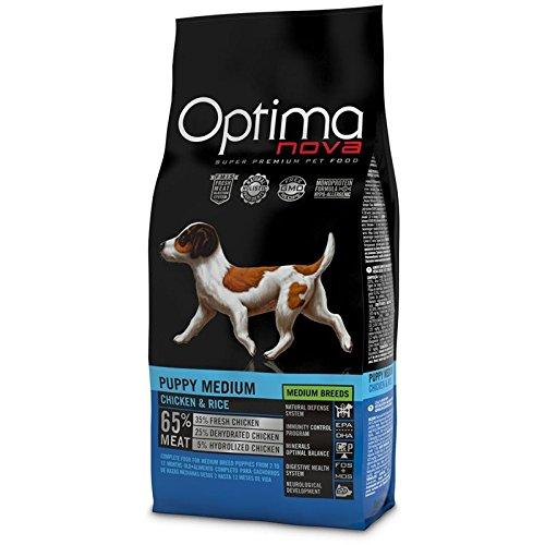 optimanova Puppy Medium Huhn Und Reis 12kg