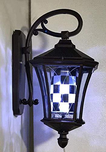 JUNWEN Luz del Polo de Peluquero LED 20'Rotación de la Pared iluminada en la Pared para peluquería Tienda de Salones de peluquería Signo de Negocios A/C (Color : D)