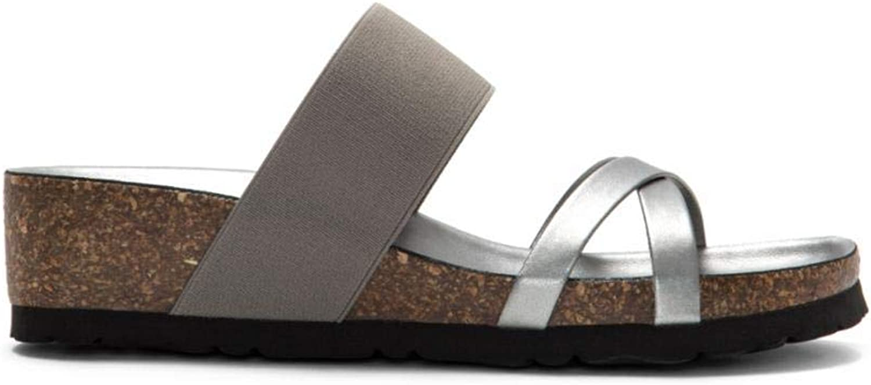Italian shoesmakers Women's 4279V9 Grey Silver 10 M US