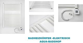 Alta calidad Baño Radiador de calefacción de acabado de eléctrico eléctrica: Tamaño: 117,5x 60–Color: Blanco de Forma: curvo de Incluye inflar y calefacción tinta
