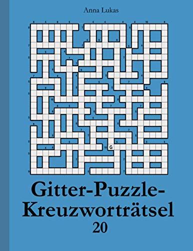 Gitter-Puzzle-Kreuzworträtsel 20