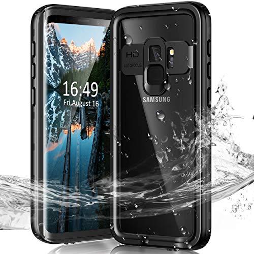 Janazan Samsung Galaxy S9+ Plus Waterproof Case, IP68 Full Sealed...