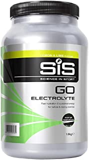 Science in Sport Go Electrolyte Energy Drink Powder, Lemon & Lime Flavour, 1.6kg