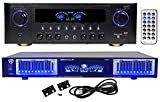 Technical Pro RX45BT Home Theater Receiver, Bluetooth USB/SD Bundle with 10 Band Eq & Remote