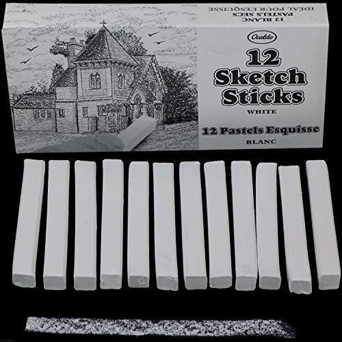 Sketch Stick 12 White (box of 12)