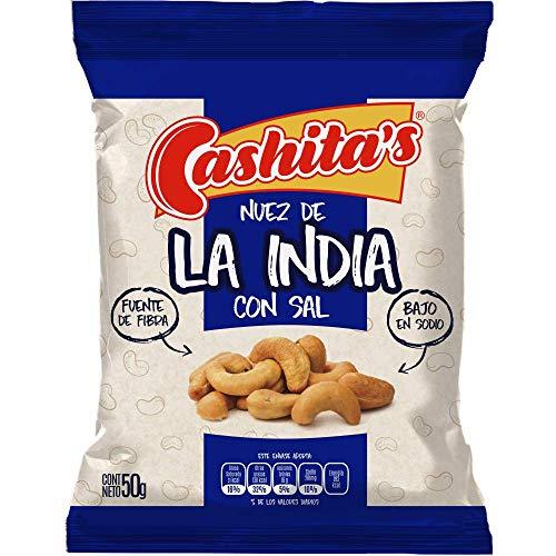Cashitas Nuez de la india con sal 50g (Paquete de 24) …