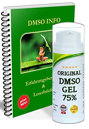 Leivys DMSO GEL - Salbe mit Dimethysulfoxid 99,9% mit Gratis PDF Handbuch Anwendung Wirkung 50ml