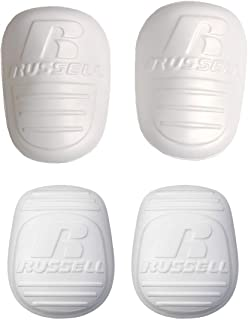 Russell Athletic Football Adult Men's 4-Piece Pad Set, (2) Thigh Pads & (2) Knee Pads