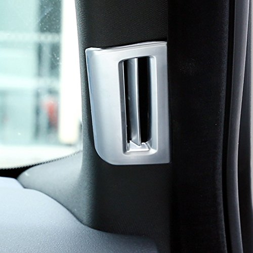 YUZHONGTIAN Matte Inner Steering Wheel Frame Trim Cover 1pc For XE X760 2015-2019 Car Accessory