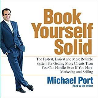 Book Yourself Solid audiobook cover art