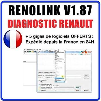 Satkit  V159/Can Clip Diagnostic interface Scan reprog pour Renault