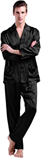 LilySilk 100 Pure Silk Pyjamas for Men Set Long Sleepwear Pyjama Set 22 Momme Mulberry Silk