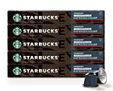 Starbucks by Nespresso, Decaf Espresso Dark Roast (50-count single serve capsules, compatible with Nespresso Original Line System)