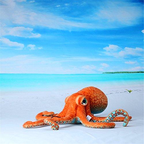 33.5 Inchs Giant Realistic Stuffed Octopus