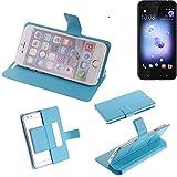 K-S-Trade Flipcover proetcion case for HTC U11 Dual-SIM,