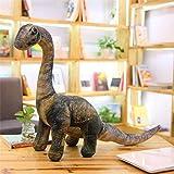 Stuffed Animal Simulation Dinosaur Plush Toys Soft Cartoon Pillows Lifelike Tyrannosaurus Stuffed Doll for Boys Kids Birthday Seismosaurus-L (90-140cm)