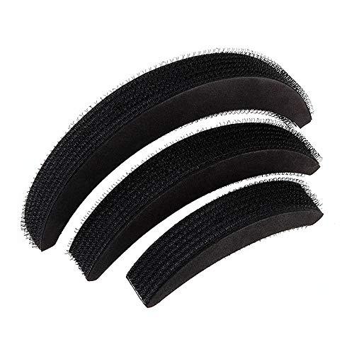 Geschwollene Haare 3PCs Haarvolumen erhöhen Puff Schwamm Pad Bump Up Insert Base DIY Hochsteckfrisur Styling Set Volumen auf Schwamm Haarbasis