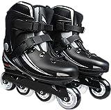 Patines en línea Zapatos de patinaje de velocidad Patines en línea para cuchillas de rodillos de una sola fila adulta Profesional en línea de carbono fibra principiante Deportes al aire libre Recreaci