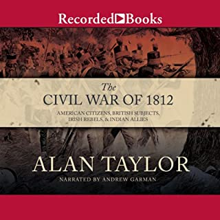 Civil War of 1812 audiobook cover art