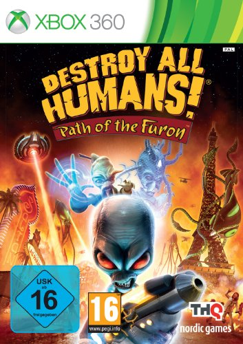 Destroy All Humans Path Of The Furon [Importación Alemana]