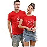 Avaatar Men's & Women's Regular Fit T-Shirt (Pack of 2)