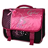 Cartable 38 cm Cybel Cheval Licorne Rose Bagtrotter