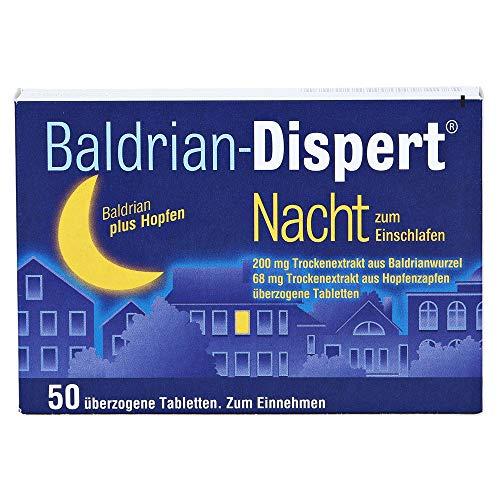 BALDRIAN DISPERT Nacht/Einschl. Tabl.ueberzogen, 50 St