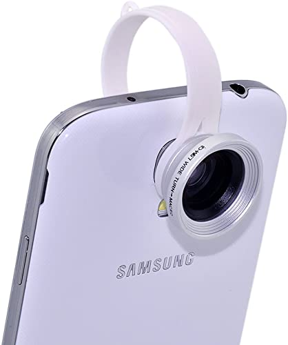 lowest ANiseS sale 2-in-1 Detachable Clip on Wide Angle discount + Macro Lens for Samsung Galaxy S4 i9500 (White Color) outlet online sale