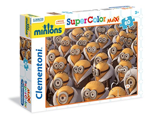 Clementoni - Puzzle Maxi, diseño Minions, 60 Piezas (267484)