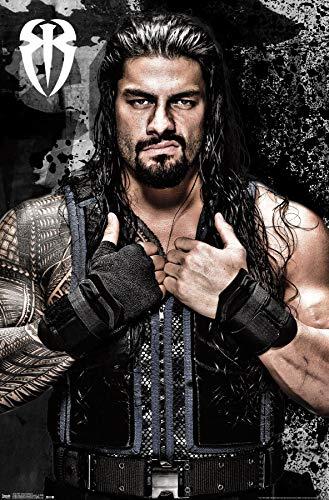 Trends International WWE Roman Reigns Wall Poster 22.375' x 34'