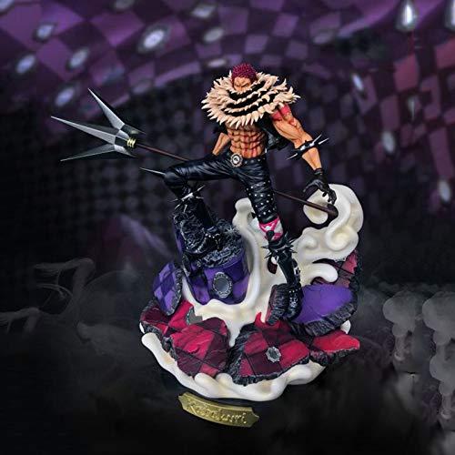 ZH One Piece Charlotte Katakuri Figuras De Acción, 39Cm Anime Estatua De Juguete, Coleccionables Modelo, PVC Ambiental Protección Materiales Juguetes Adornos Regalo