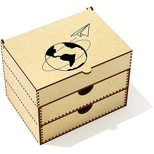 'Avion en Papier' Boîte de Maquillage (VC00015550)