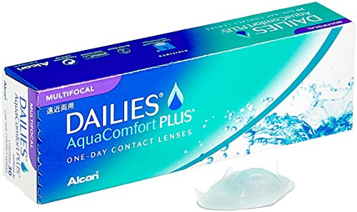 Dailies AquaComfort Plus Multifocal Tageslinsen weich, 30 Stück, BC 8.7 mm, DIA 14.0 mm, ADD HIGH, -4 Dioptrien