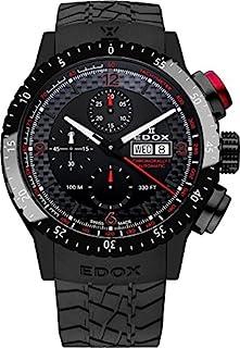 EDOX - Chronorally 1 Reloj de Hombre automático 45mm 01118 37NR NRO