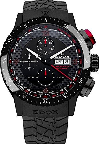 Edox Chronorally 1 Reloj de Hombre automático 45mm 01118 37NR NRO