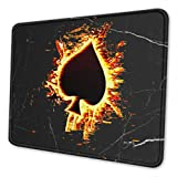 Poker Ace of Spades Mouse Pad Computer Mouse Pad Multi Size Mouse Pad Non Slip Rubber Mouse Pad