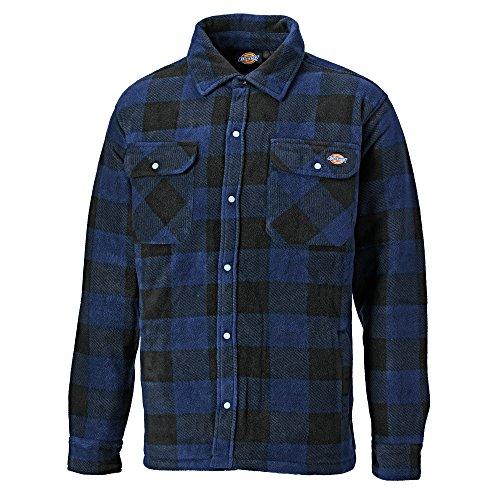 Dickies Herren Hemd Portland Lumberjack, Langarm, kariert (2XL) (Königsblau)