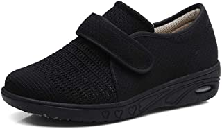 W&Le-Slippers Women's Wide Width Walking Shoes with Adjustable Closures, Air