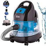 Staubsauger | 2.000 Watt | Wasser Staubsauger | Bodenstaubsauger | Staubsauger mit Wasserfilter | Für Innen- und Außenreinigung | Wassersauger | Mit oder ohne Beutel | Vaccum Cleaner | (Bara Blue)
